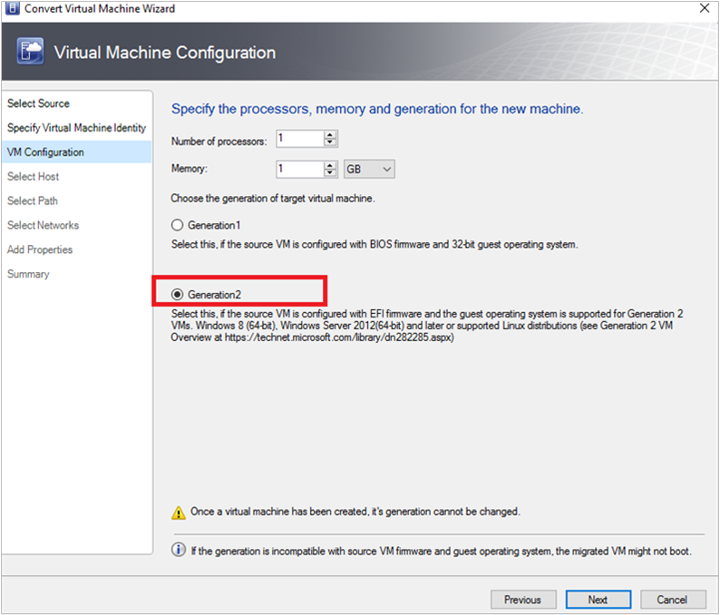 Convert a VMware VM to Hyper-V in the VMM fabric | Microsoft