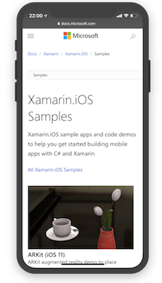 Xamarin Documentation Now on docs microsoft com | Microsoft Docs