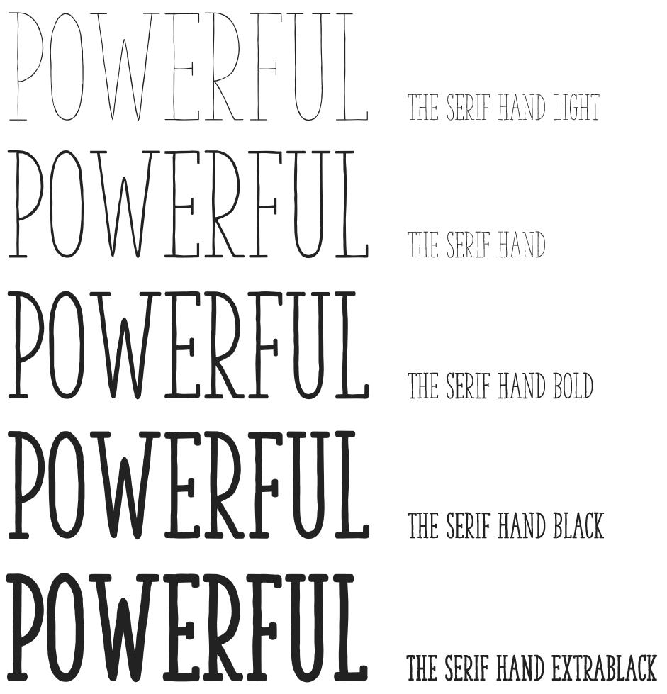 The Serif Hand Typography Microsoft Docs