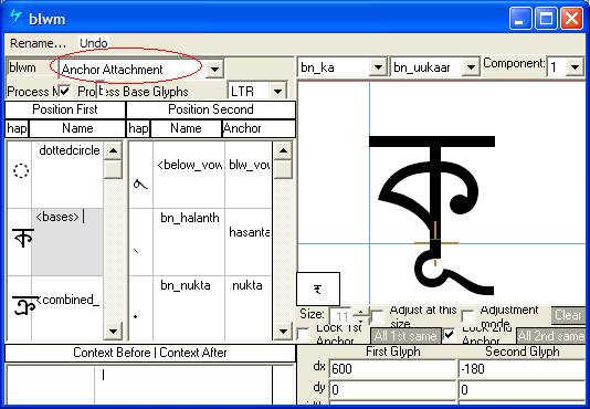 Developing OpenType Fonts for Bengali Script - Typography