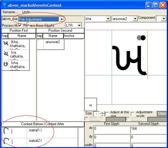 Developing opentype fonts for gujarati script typography img ccuart Gallery