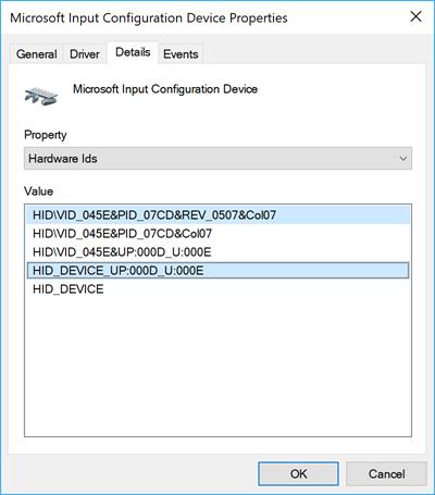 I2C HID Driver - Microsoft Community |Microsoft Hid