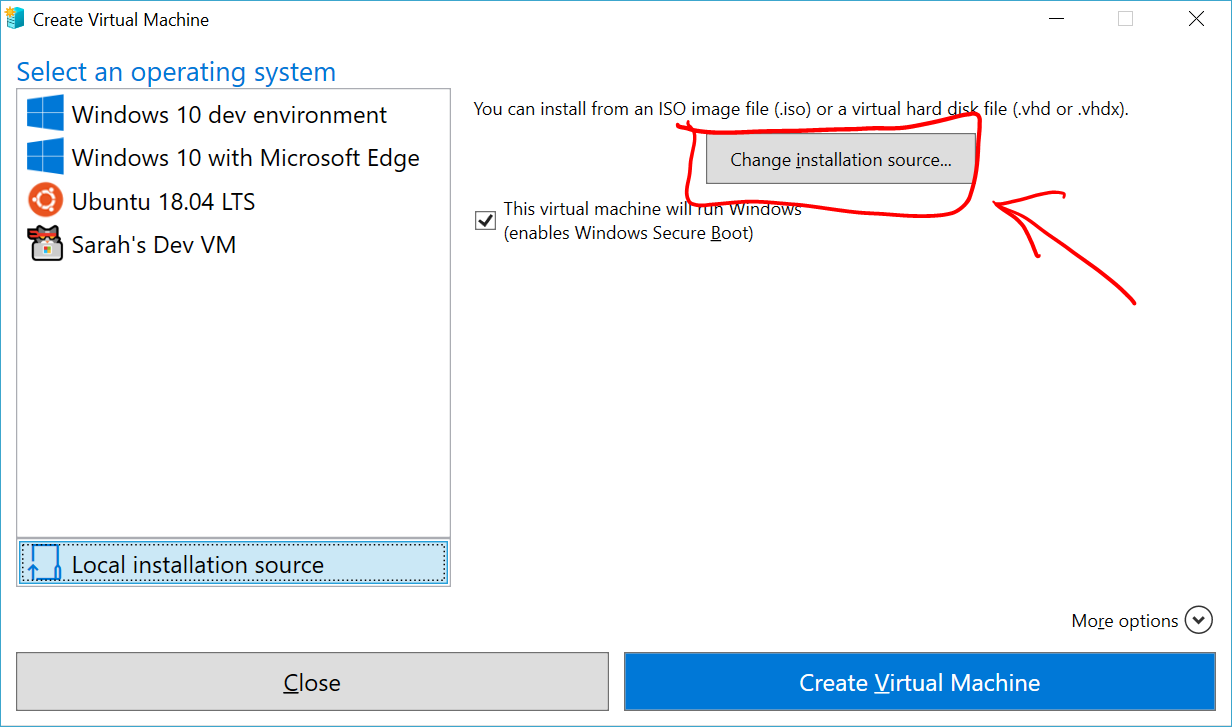 Create a Virtual Machine with Hyper-V | Microsoft Docs