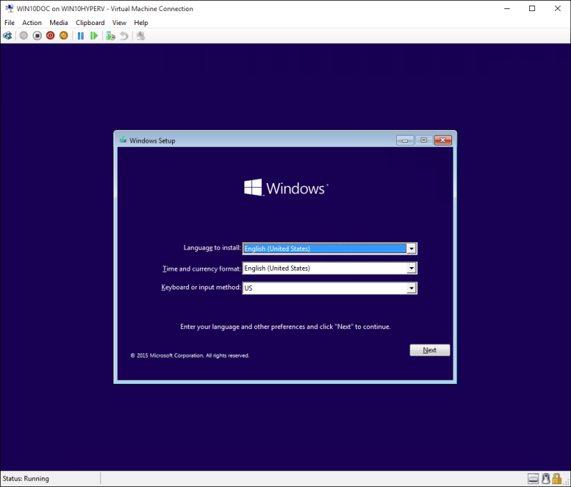 free online virtual machine windows 10