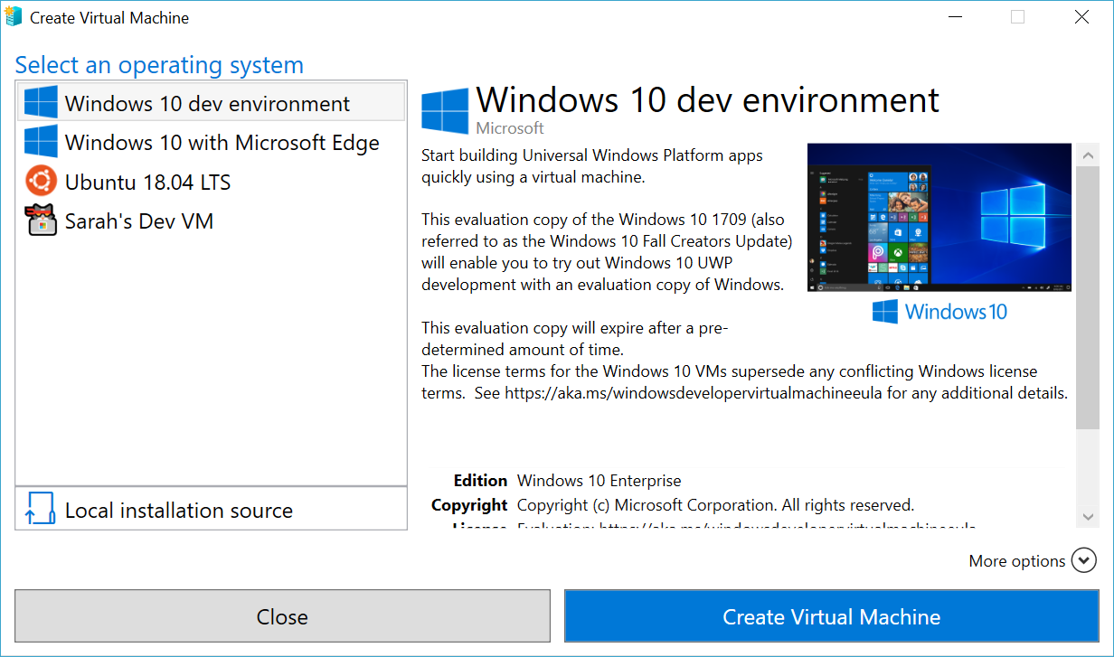 Create A Virtual Machine With Hyper V Microsoft Docs