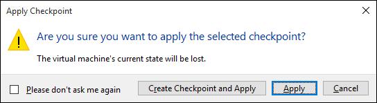 Using checkpoints | Microsoft Docs