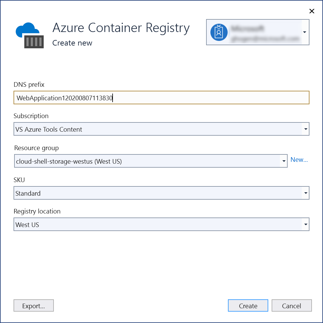 Visual Studio Container Tools with ASP NET Core - Visual