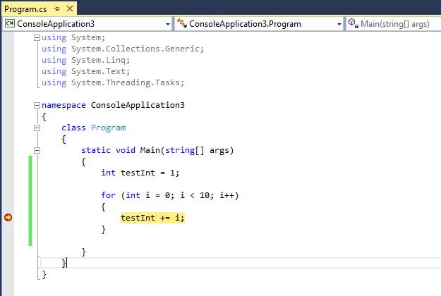 Use Breakpoints In The Debugger In Visual Studio Visual Studio