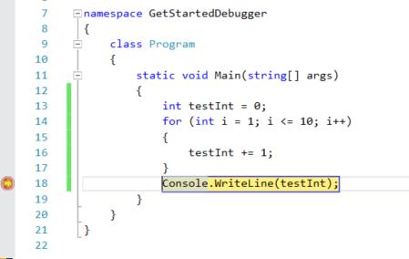 Navigate code with the debugger - Visual Studio | Microsoft Docs