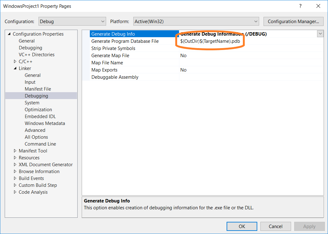 Set Debug And Release Configurations Visual Studio Microsoft Docs