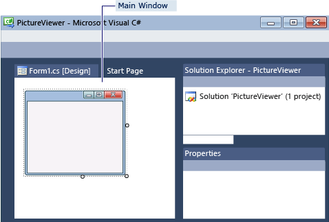 windows form templates