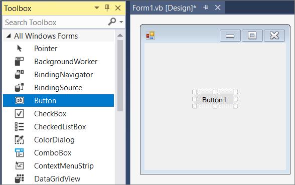 Visual studio. Net c# example testing.