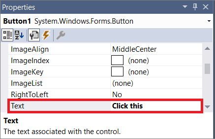 visual studios how to add buttons and labels
