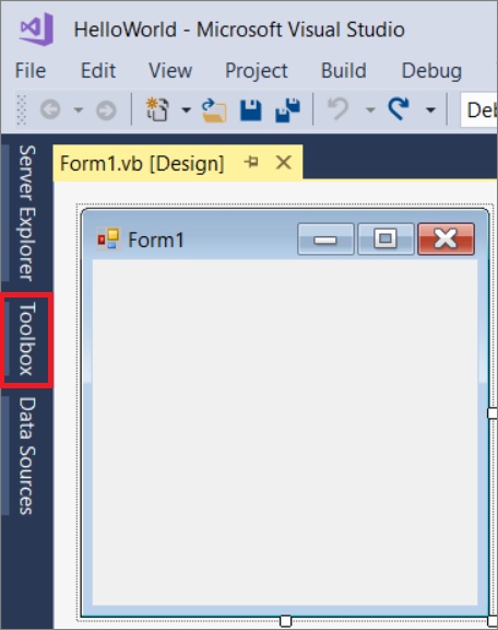 How to open another form or window by clicking a button vb2012.