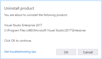how to find product key visual studio 2017