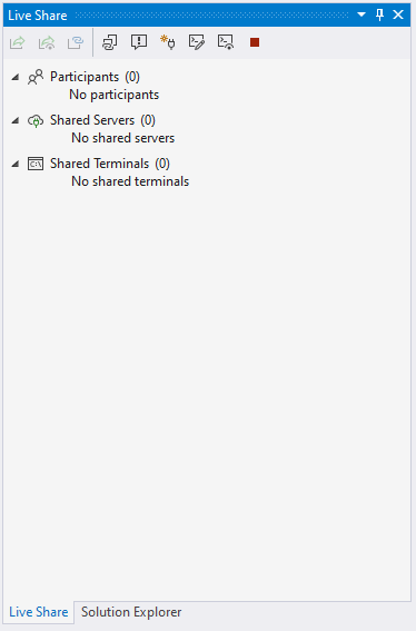 Collaborate using Visual Studio - Visual Studio Live Share - Visual