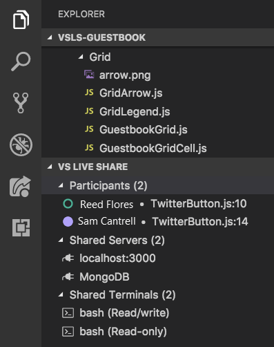 Collaborate using Visual Studio Code - Visual Studio Live Share