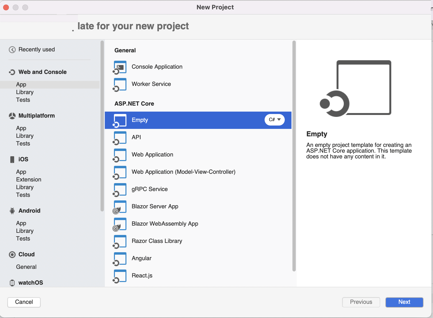 Getting Started with ASP NET Core - Visual Studio 2019 for