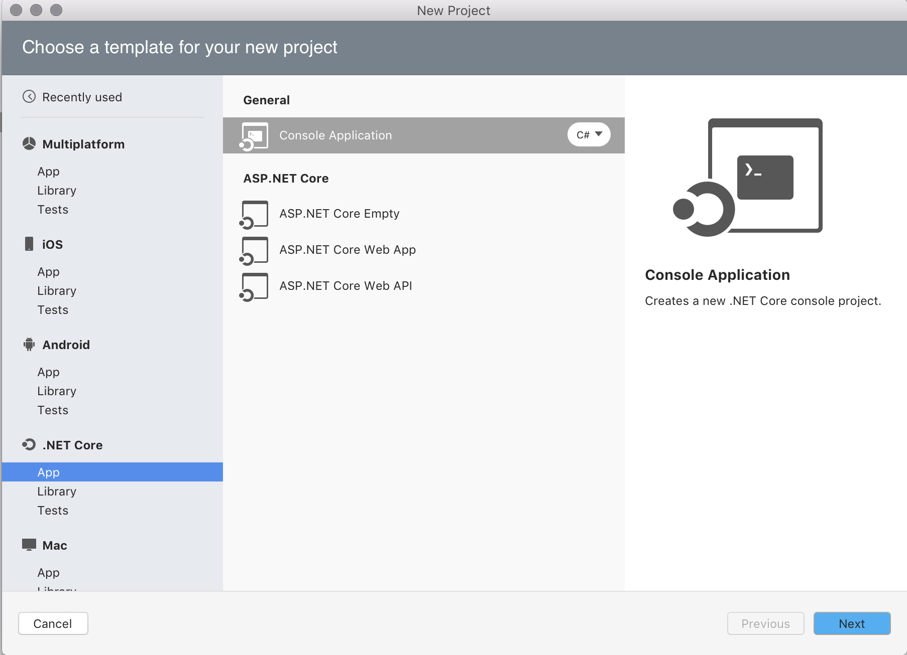 how to open a net in visual studio