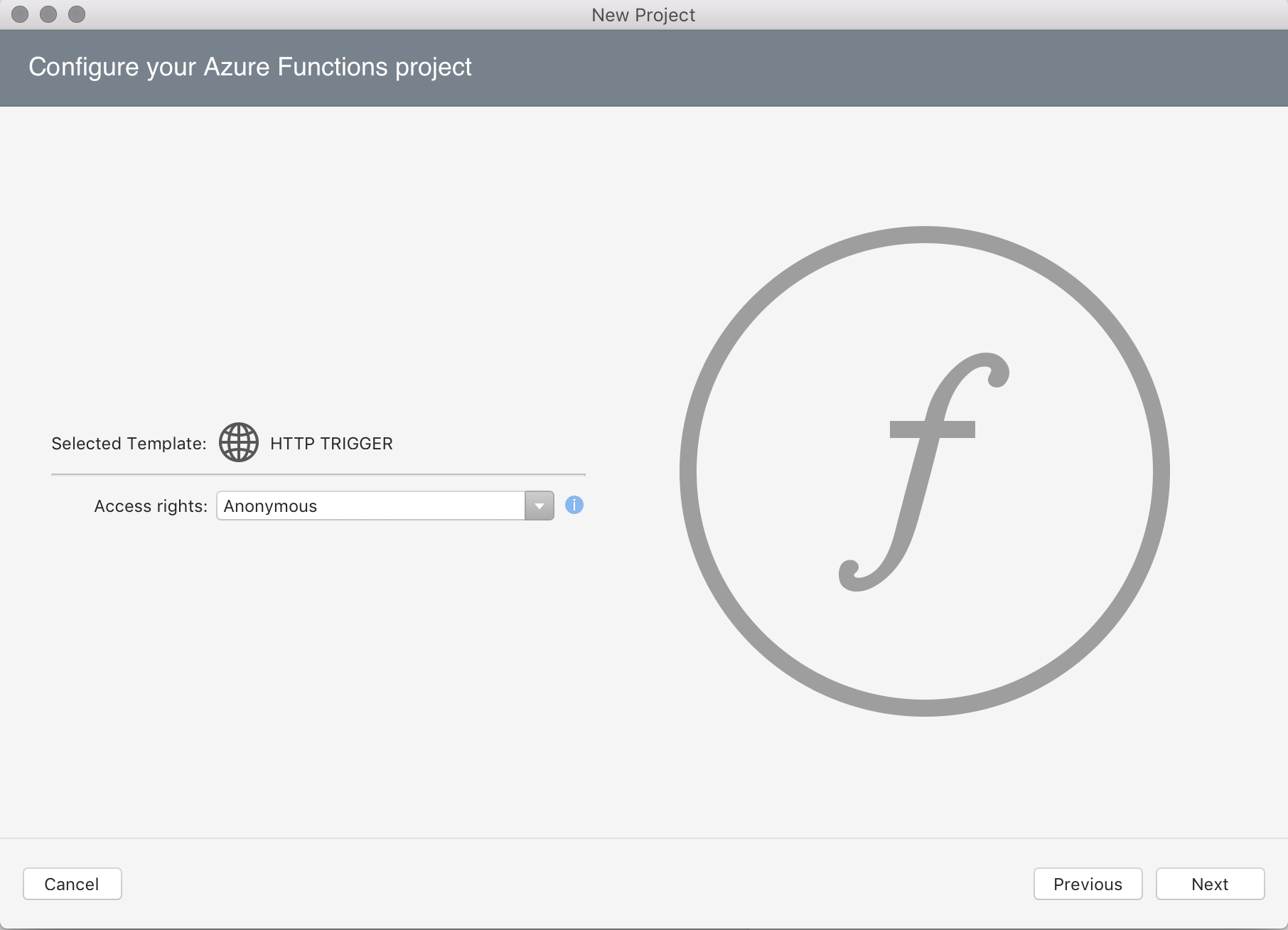 Introduction To Azure Functions Visual Studio For Mac Microsoft Docs