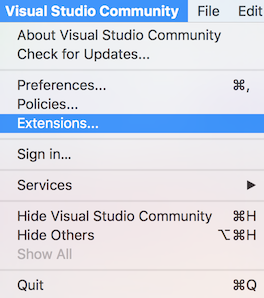 Setup Visual Studio for Mac Tools for Unity - Visual Studio
