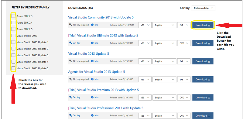 visual studio product key 2013 ultimate