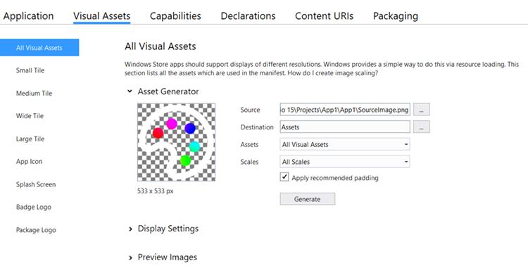 Manifest Visual Asset Generator