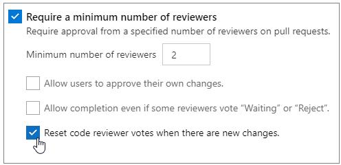 Reset votes setting