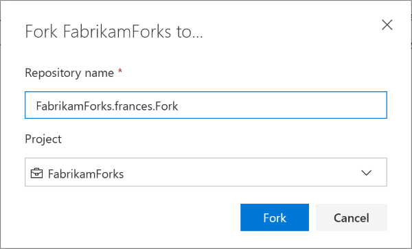 Git forks