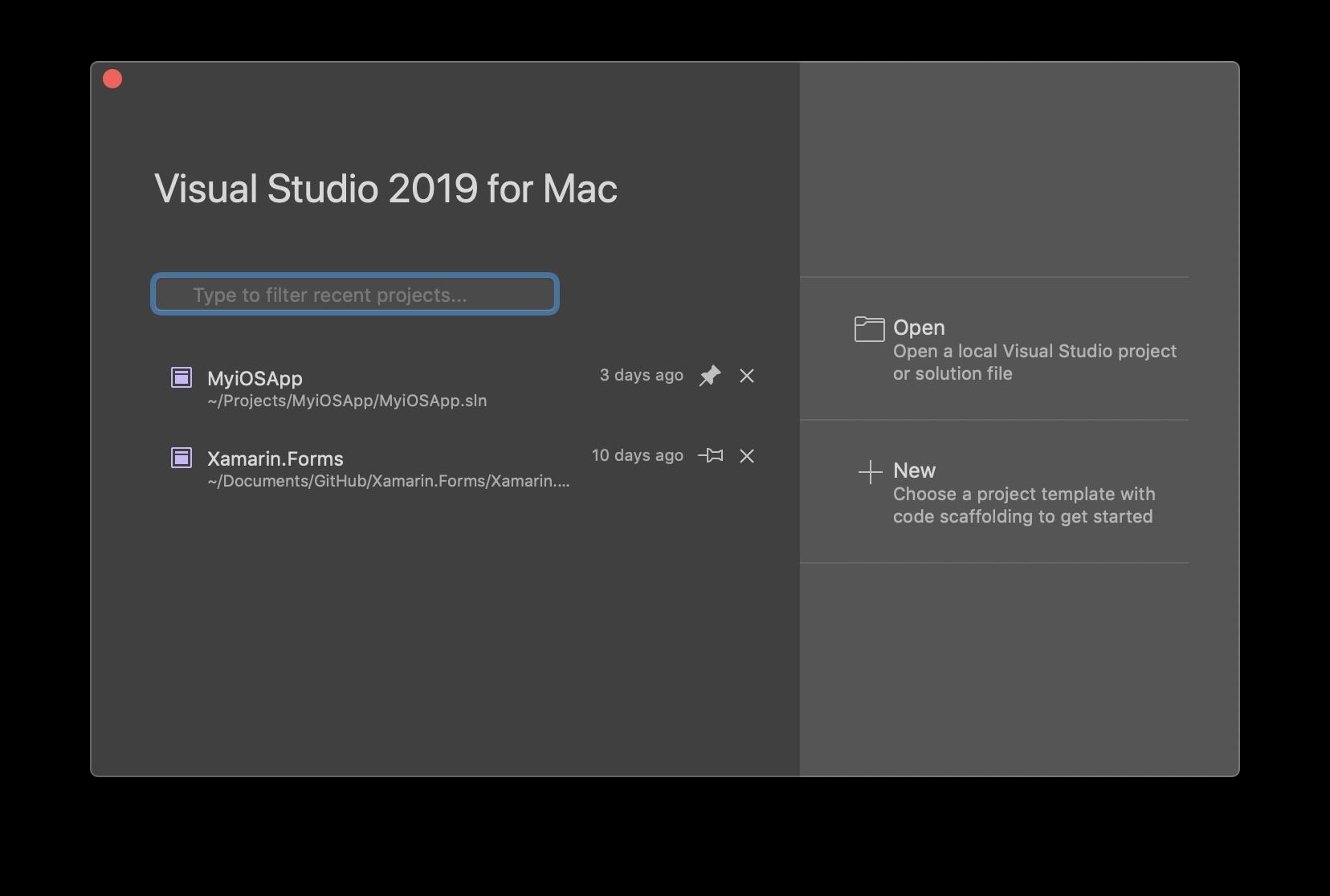 Visual Studio 2019 for Mac – Release Notes | Microsoft Docs