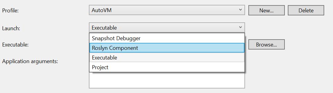 Source Generator debugger