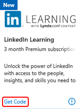 LinkedIn Learning Benefit in Visual Studio Subscriptions