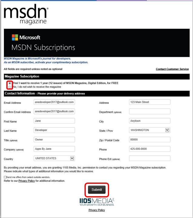 Msdn Subscription