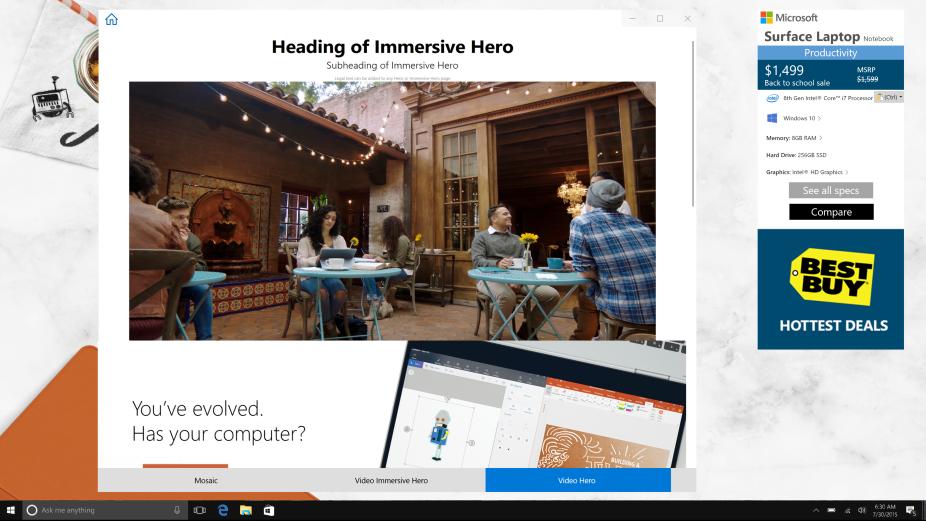 Retail demo experience (RDX) | Microsoft Docs