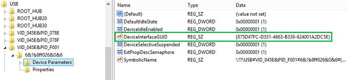 USB Device Registry Entries - Windows drivers | Microsoft Docs
