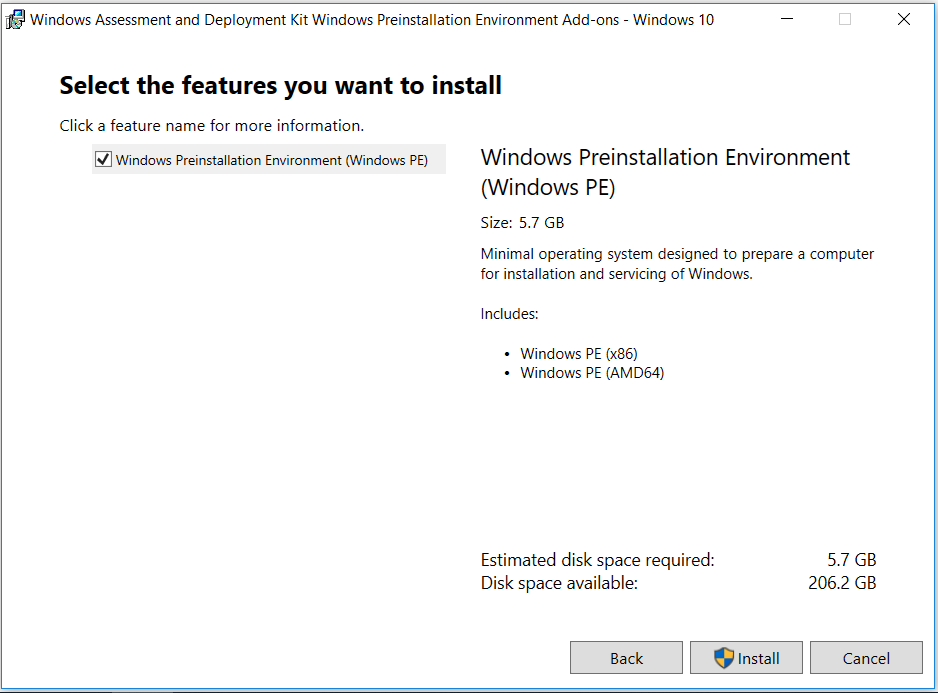 create custom windows 10 install disk