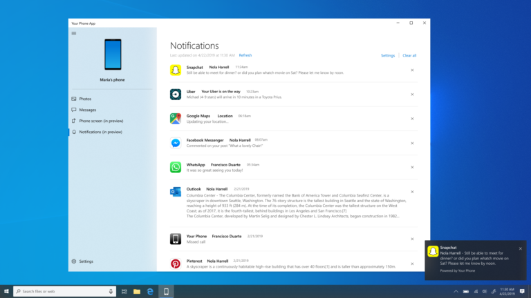 New and updated apps in the Windows 10 Insider Preview