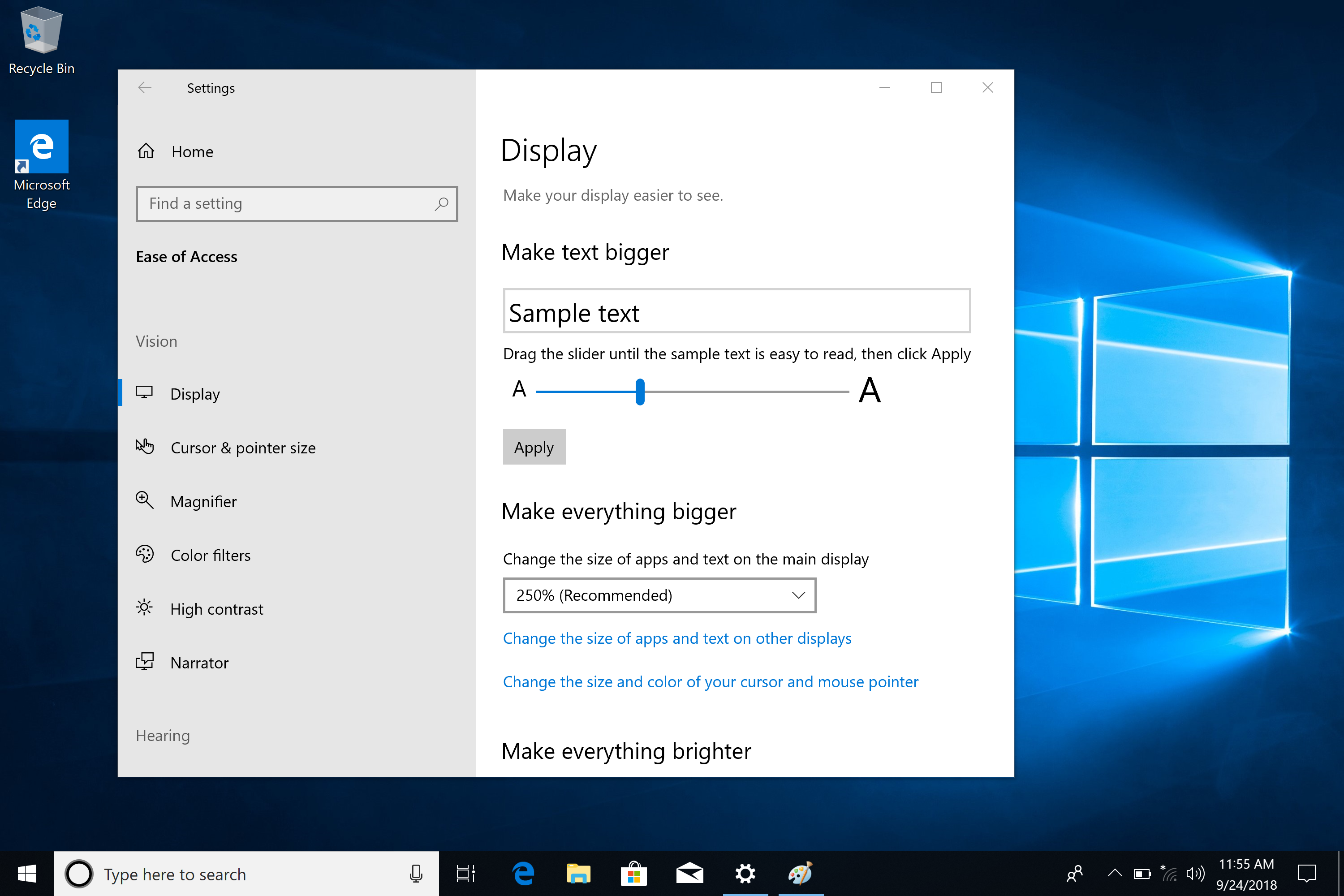 What's new in the Windows 10 Insider Preview Builds (RS5