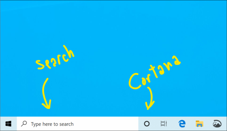 Separating Search and Cortana