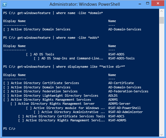 Install a New Windows Server 2012 Active Directory Forest