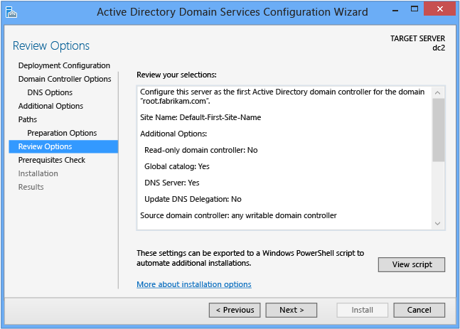 Adding a Secondary Domain Controller on Windows ... - Vultr