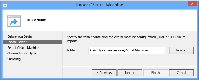 Virtualized DC Deployment