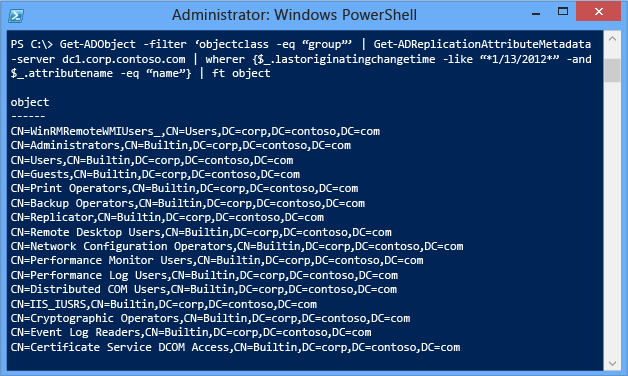 advanced windows chicago advanced management with powershell advanced active directory replication and topology management using