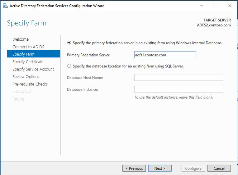 Upgrading to AD FS in Windows Server 2016 | Microsoft Docs