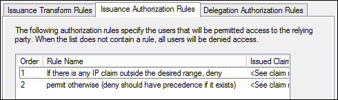 Access Control Policies in AD FS | Microsoft Docs