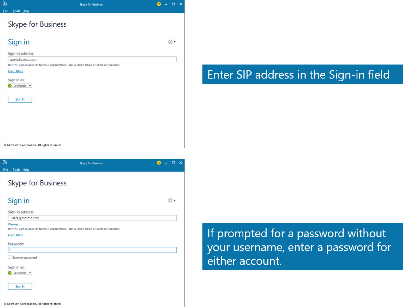 how to set skype id