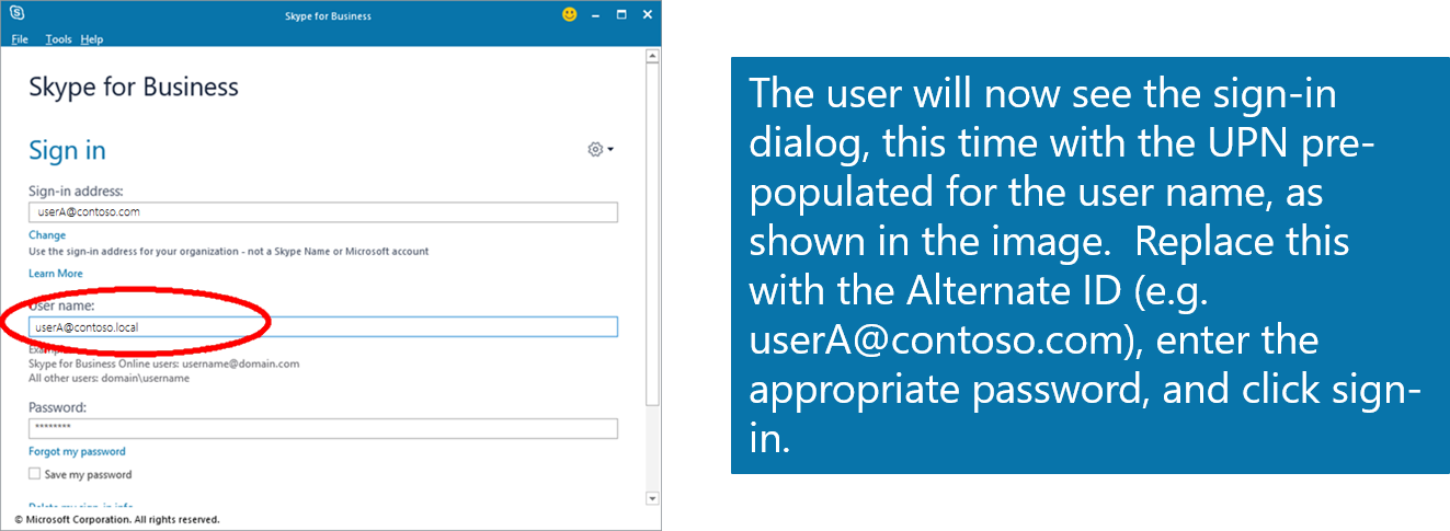 Configuring Alternate Login ID | Microsoft Docs Onedrive Login