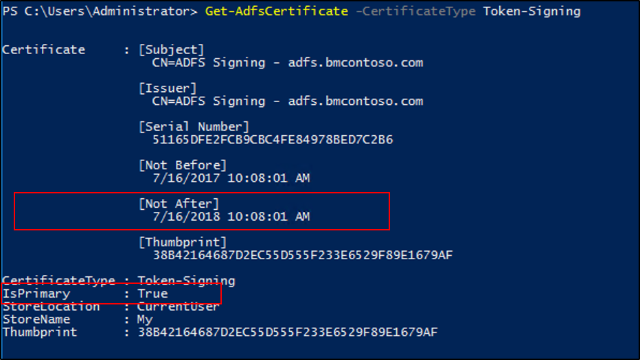 Obtain and Configure Token Signing and Token Decryption Certificates