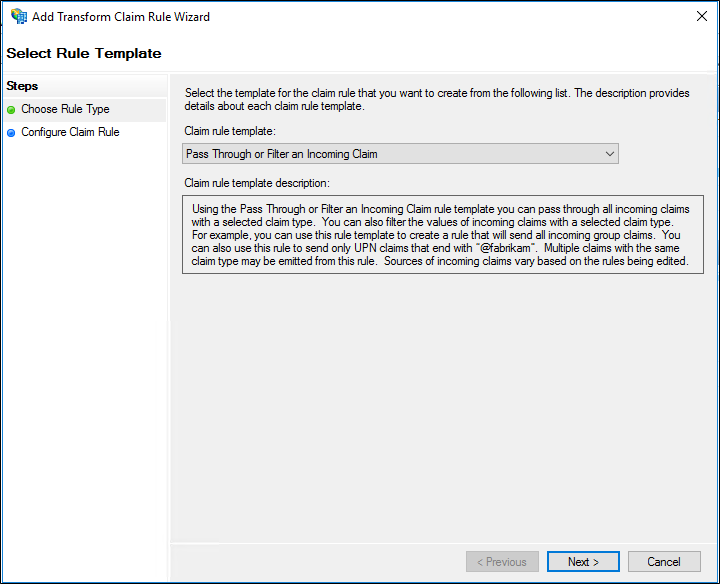 Create a Rule to Pass Through or Filter an Incoming Claim