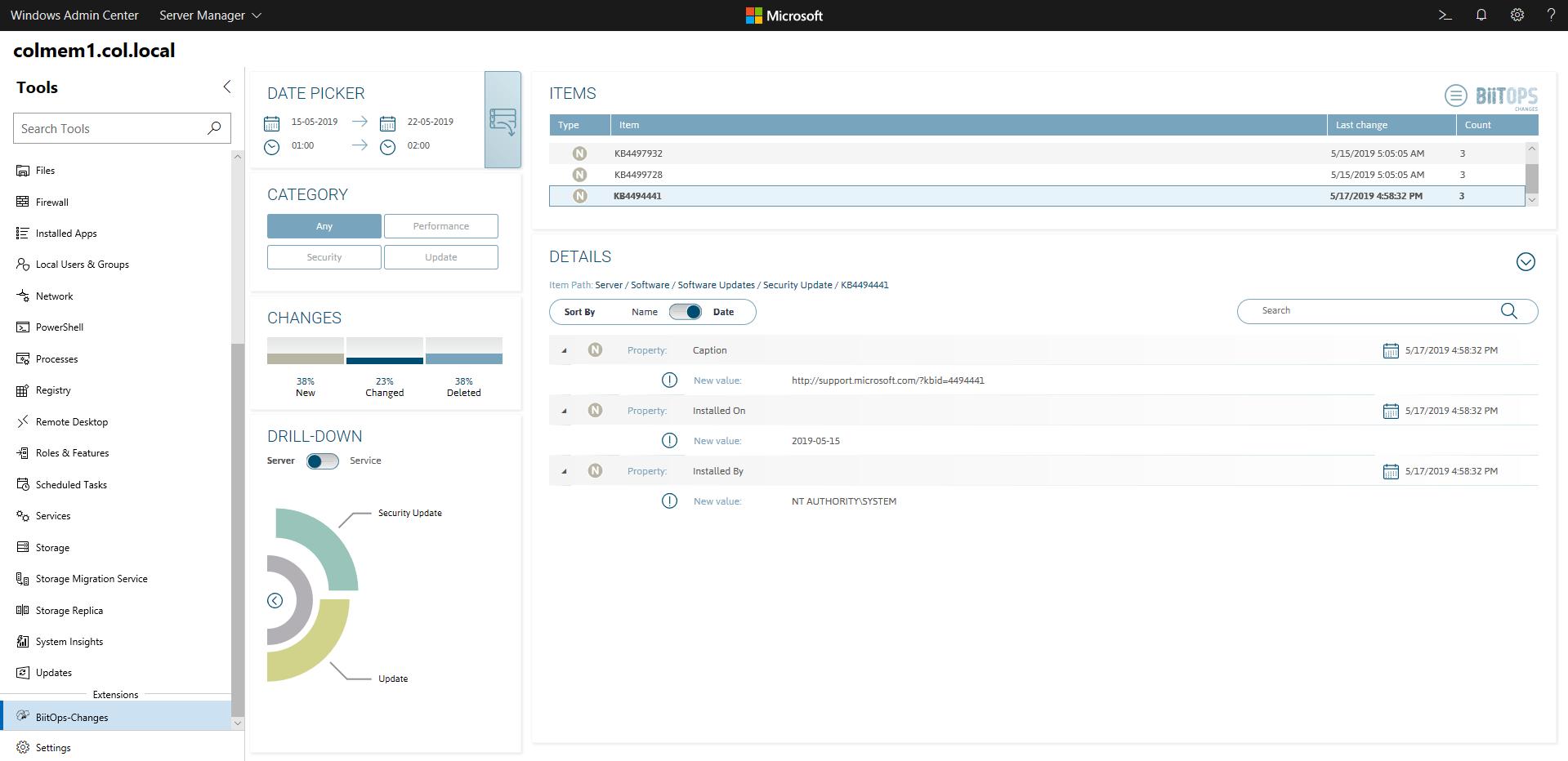 Extensions for Windows Admin Center | Microsoft Docs